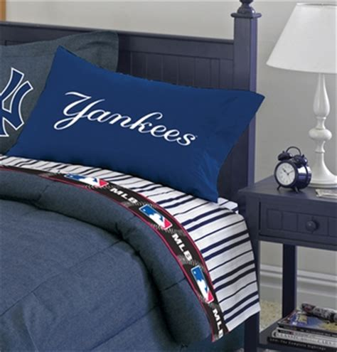New York Yankees Bed Set New York Yankees Bedding Yankees Bedding Sports Team Bedding Baseball Bedding