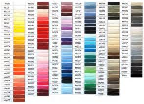 coats and clark thread color chart coats clark thread color chart 2017 2018 best cars reviews