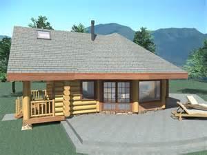Home Floor Plans To Build Aspen Meadow 1040 Sq Ft Log Home Kit Log Cabin Kit
