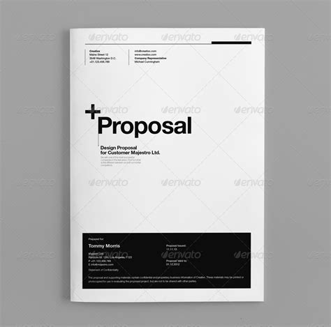 design proposal abstract proposal by egotype graphicriver