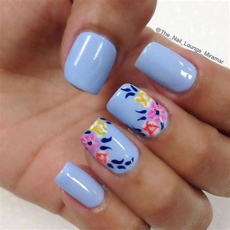 Blue Nail Ideas 40 blue nail ideas for creative juice