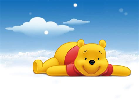 wallpaper animasi winnie the pooh winnie the pooh cartoon picture and wallpaper