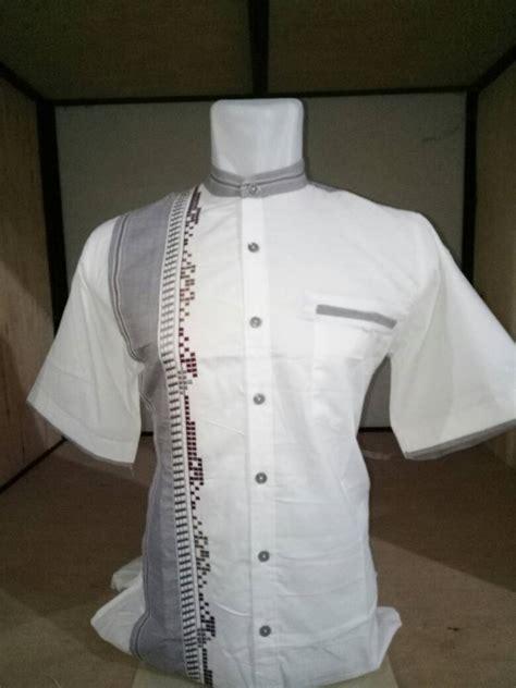 Baju Koko Al Luthfi Bm Al 26 baju koko al luthfi tangan pendek ah 003 al luthfi