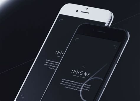 100 Free High Resolution Mockup Templates Iphone Psd Template Free