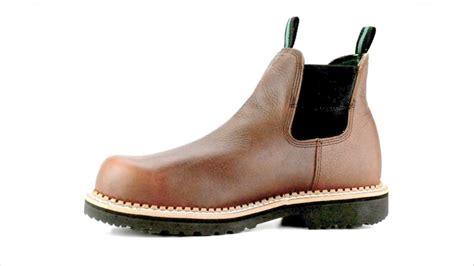 s boot gr530 steel toe slip on waterproof work