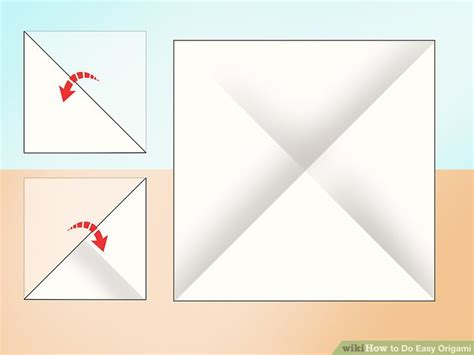 How To Make A Paper Fortune Teller Wikihow - 3 ways to do easy origami wikihow