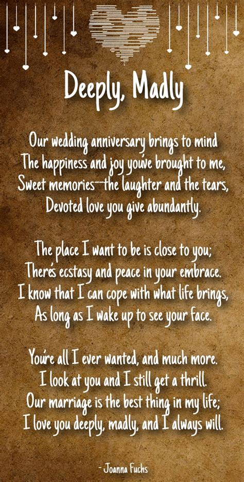 anniversary poems for boyfriend poems for anniversary poems poem - Wedding Anniversary Poems For My