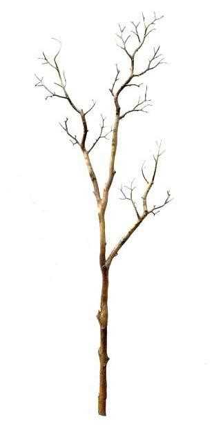 uvg dtr02 artificial dry tree branches with white color