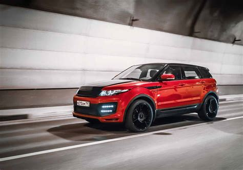 modified range rover larte design range rover evoque modified autos world blog