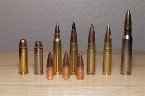 ask foghorn what are the different types of bullets and