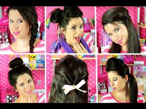 easy hairstyles for school for 11 year olds 8 cute easy school hairstyles youtube