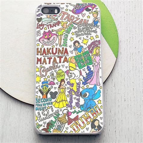Agen Supplier Murah Iphone 5 5s Flower Princess disney character collage quote hakuna matata iphone 6 plus