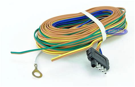 trailer light wiring harness 5 flat 35ft to re wire