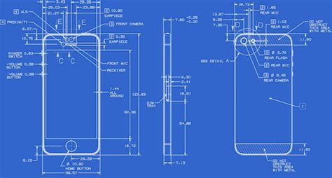 blueprint creator apple posts full detailed blueprints for the iphone 5