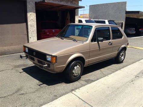 volkswagen hatchback custom sell used 1981 volkswagen rabbit l custom hatchback 2 door