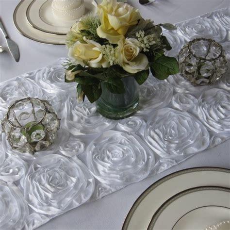 rosette table runner rosette table runner wedding ideas