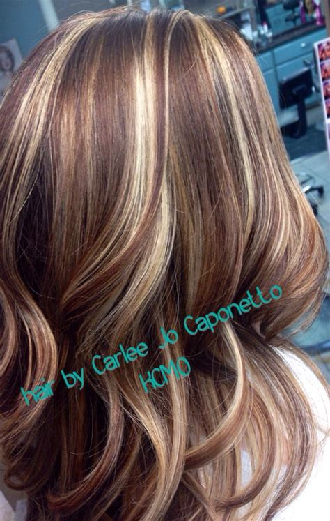 highlight color high contrast highlight and lowlights hair