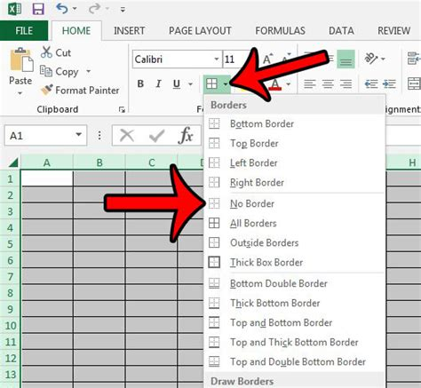 format excel gridlines how to print all gridlines in excel 2013