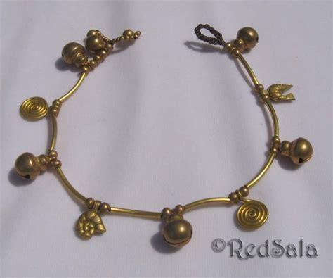 Handmade Ankle Bracelets - handmade charm anklet ankle bracelet fish bells spiral