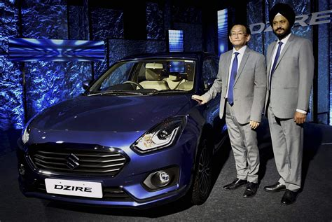Sales Executive In Maruti Suzuki Maruti Rolls Out All New Dzire At Rs 5 45 Lakh The New