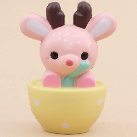 Squishy Licensed Leilei Princess Original pink deer animal yellow bowl scented squishy kawaii leilei
