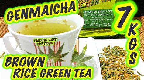 Brown Rice Detox Weight Loss by Genmaicha Tea Weight Loss Dandk