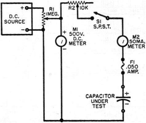 capacitor leakage tester circuit are your electrolytics leaky march 1957 radio television news rf cafe
