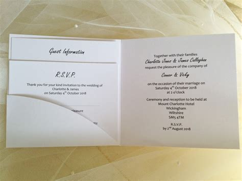 wedding invite pockets uk pocketfold wedding invitations affordable pocketfold