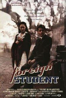 foreigner film wiki foreign student wikipedia