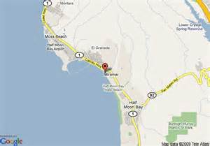 where is cypress california on map map of cypress inn on miramar half moon bay