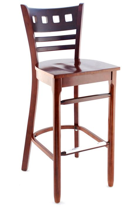 Outdoor Bar Stools Houston Premium Houston Series Wood Bar Stool Seating Masters