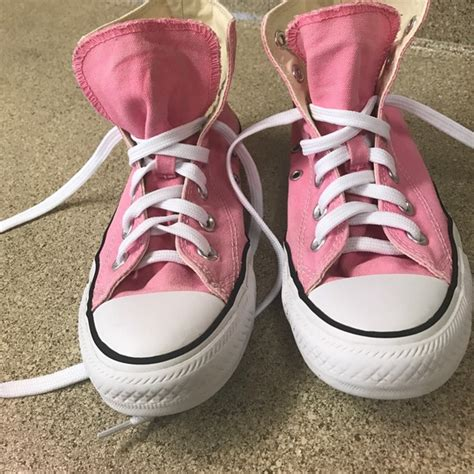 light pink high top converse converse light pink high top converse chuck s