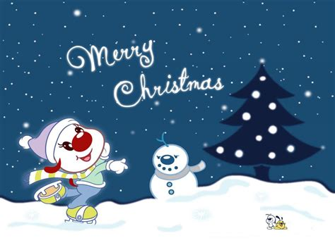 christmas wallpaper cartoons wallpaper wallpapers9