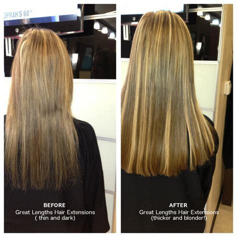 great length hair extension photos vitopini salon spa