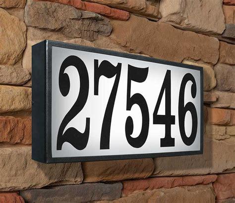 low voltage address light low voltage house numbers desainrumahkeren com