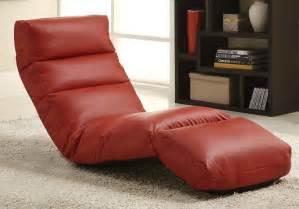 homelegance gamer floor lounger chair leatherette