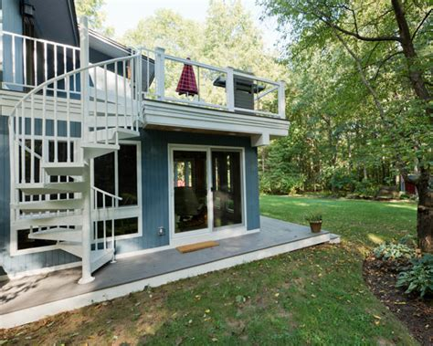 Build A Guest House In Backyard Design Your Own Urban Rooftop Deck Salter Spiral Stair