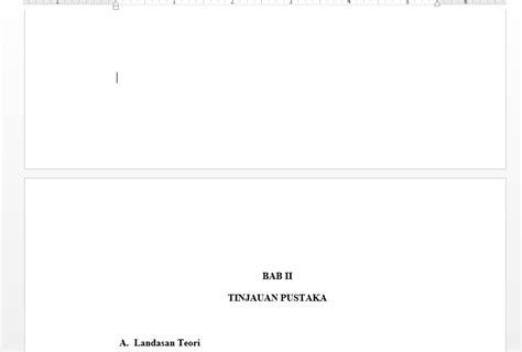 cara membuat halaman skripsi pada ms word cara membuat halaman di skripsi pada microsoft word