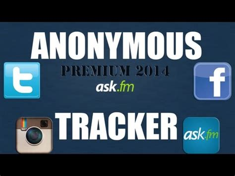 ask fm tracker online ask fm tracker discover who asks you anonymous questions