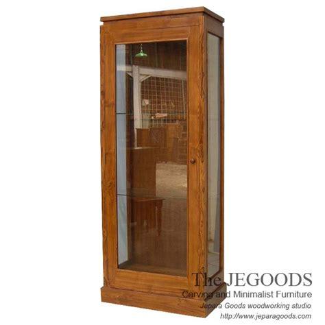 187 juara jati minimalist cabinet display teak jepara furniture manufacturer