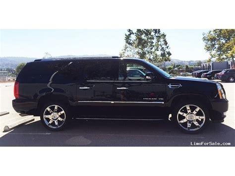 2014 Cadillac Escalade For Sale by Used 2014 Cadillac Escalade Esv Suv Limo Pleasanton