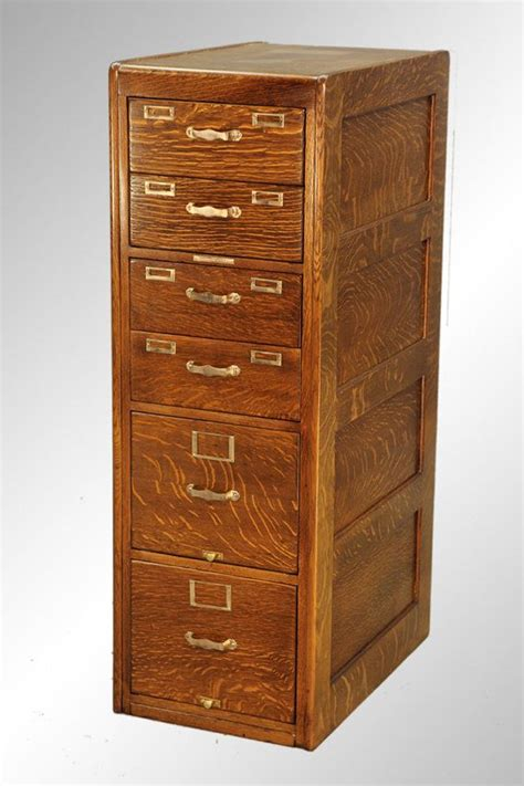 Library File Cabinet 16119 Antique Oak File Cabinet By Library Bureau