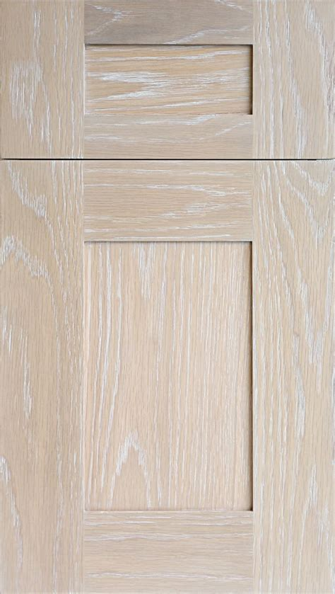 White Oak Cabinet Doors Meridian Wr Door In Plainsawn White Oak In Driftwood Stain With Wire Brush Glaze In Snow New