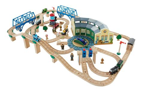Wooden Railway Tidmouth Sheds by Wooden Railway Tidmouth Deluxe Shed