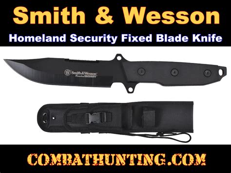 smith wesson homeland security fixed blade 3353 smith wesson homeland security fixed blade knife