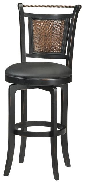 black counter stools houzz raw adjustable stool gunmetal bar stools hillsdale norwood swivel black stool bar stools and