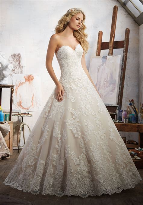 Style Wedding Gowns by Magdalena Wedding Dress Style 8108 Morilee