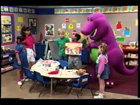 barney blue and circles part 1 barney my family s just right for me part 1