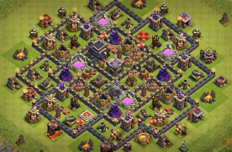 best defense 4 best th9 defense bases with bomb tower 2016 2017 best