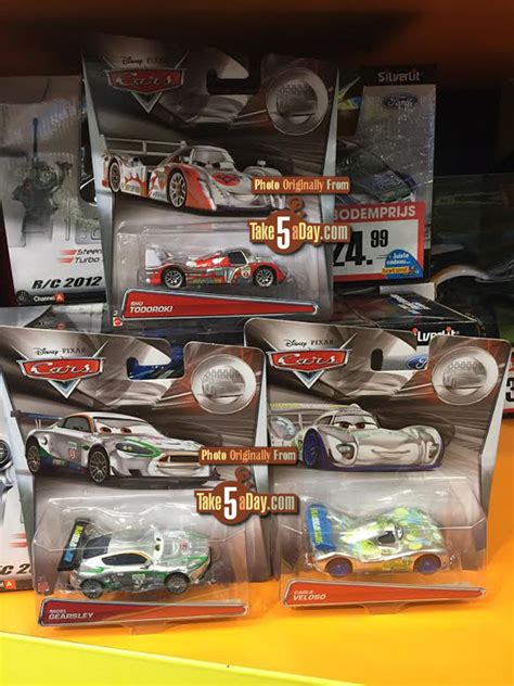 Mattel Disney Pixar Cars Troc Silver Racer Series Francesco Bernoulli mattel disney pixar cars silver racers back in europe take five a day